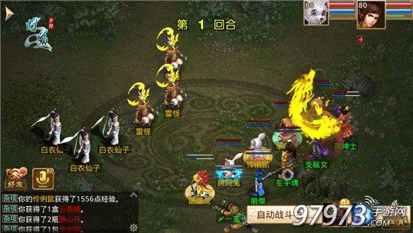 图4 《问道》手游宠物战斗截图.jpg
